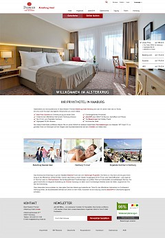 Alsterkrug Hotel Screenshot